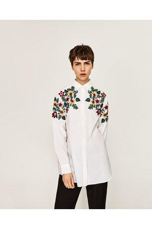Mujer Camisas y Blusas - Zara CAMISA OVERSIZE FLORAL
