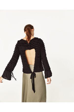 Mujer Camisas y Blusas - Zara CUERPO FLECOS