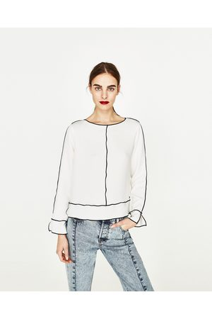 Mujer Camisas y Blusas - Zara CUERPO MANGA LARGA