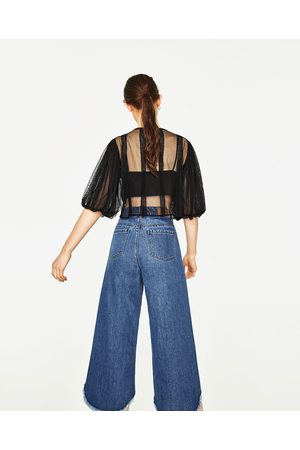 Mujer Camisas y Blusas - Zara CUERPO MANGA VOLUMEN