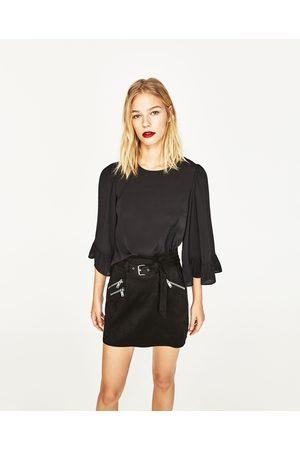 Mujer Camisas y Blusas - Zara CUERPO MANGA KIMONO - Disponible en más colores