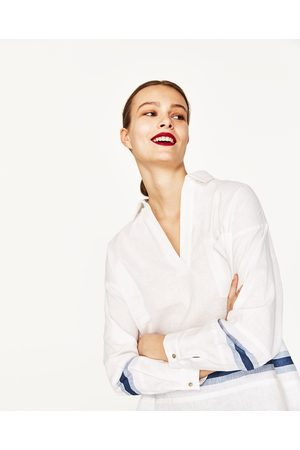 Mujer Blusas - Zara BLUSA LINO