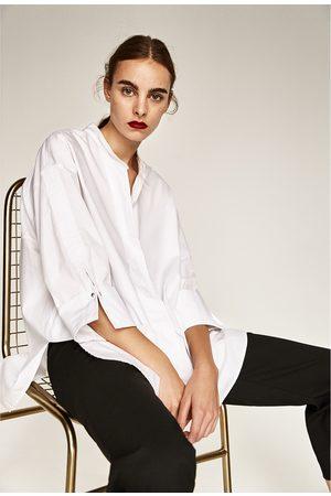 Mujer Camisas y Blusas - Zara CAMISA CUELLO MAO