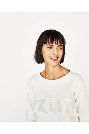 Mujer Camisas y Blusas - Zara CUERPO VOLANTES
