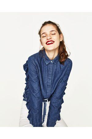 De Blusas ¡compara Y Mezcilla Moda Camisas Zara Mujer ZzngqwBdI