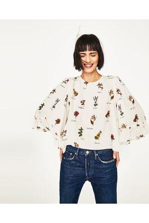 Mujer Camisas y Blusas - Zara CUERPO MANGA KIMONO