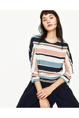 Mujer Camisas y Blusas - Zara CUERPO KIMONO RAYAS