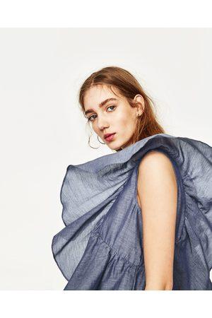 Mujer Camisas y Blusas - Zara CUERPO CON VOLANTES