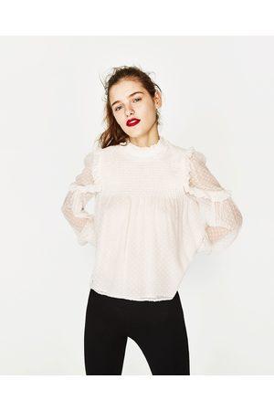 Mujer Camisas y Blusas - Zara CUERPO PLUMETTI - Disponible en más colores