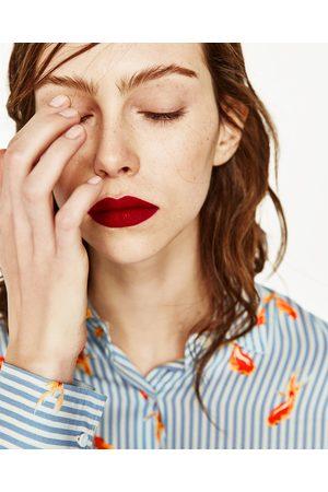 Mujer Camisas y Blusas - Zara CAMISA OVERSIZE ESTAMPADA
