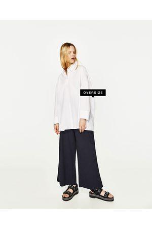 Mujer Camisas y Blusas - Zara CAMISA OVERSIZE