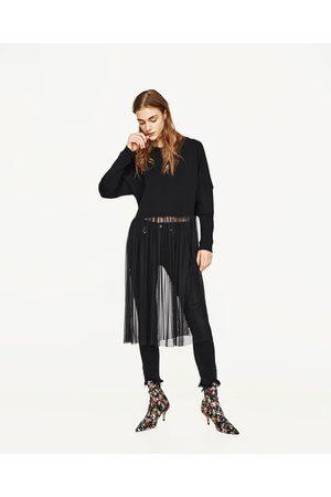 Mujer Camisas y Blusas - Zara JERSEY CON TUL