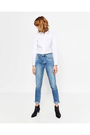 Mujer Camisas y Blusas - Zara CAMISA POPELÍN