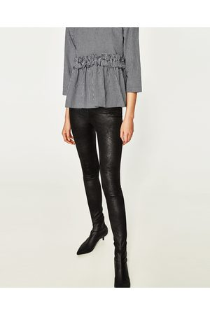 Mujer Leggings y treggings - Zara LEGGING EFECTO ANTIQUE
