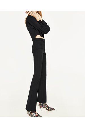 Mujer Pantalones y Leggings - Zara PANTALÓN TIRO ALTO FLARE