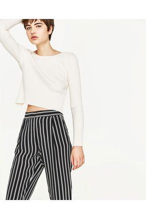 Pantalones Zara Y Compra Al Ahora Rayas Jeans ¡compara De Mujer anTaIq14
