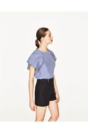 Mujer Shorts - Zara BERMUDA DOBLE TELA