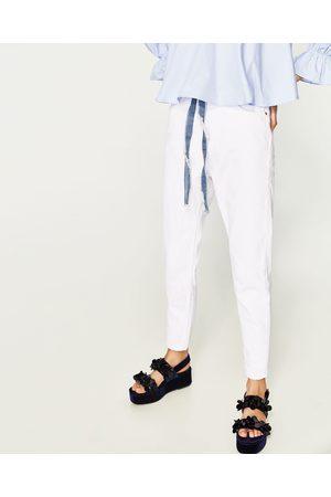 Mujer Jeans - Zara JEANS MOM FIT TIRO ALTO - Disponible en más colores