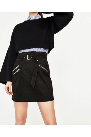 Mujer Minifaldas - Zara FALDA MINI CREMALLERAS