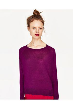 Mujer Zara JERSEY ABERTURAS LATERALES - Disponible en más colores