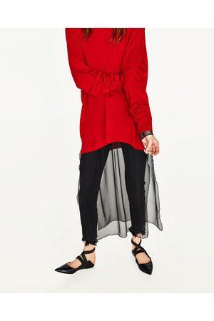 Mujer Zara JERSEY OVERSIZE CUELLO BARCO - Disponible en más colores