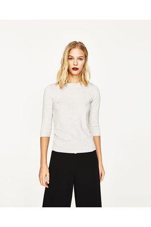 Suéteres de mujer Zara moda y ¡Compara ahora y compra al mejor precio! b50fc8f8f8c7