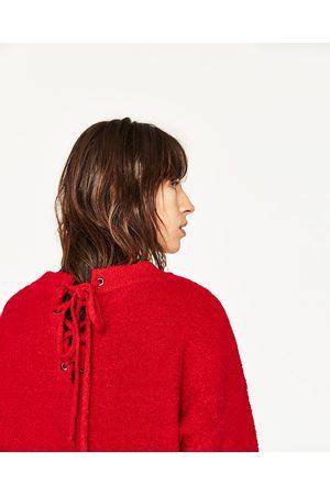 Mujer Zara MAXI JERSEY LAZO ESPALDA - Disponible en más colores