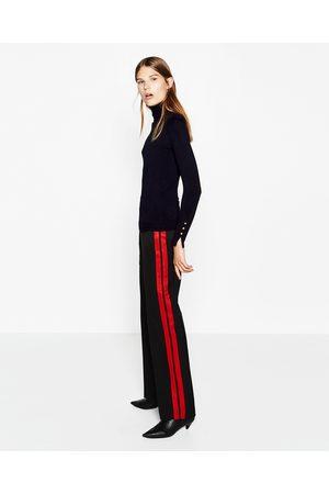 Mujer Zara JERSEY CUELLO CISNE - Disponible en más colores