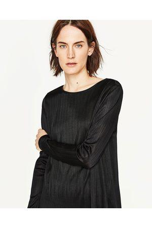 Mujer Zara JERSEY MANGA LARGA - Disponible en más colores