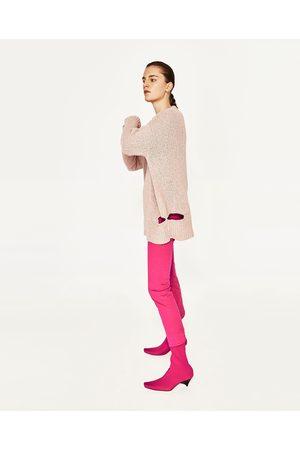 Mujer Zara JERSEY ROTOS - Disponible en más colores