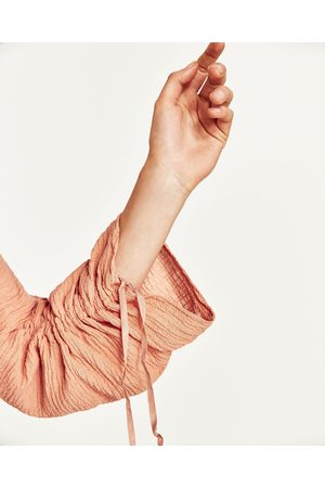 Mujer Tops - Zara TOP TEJIDO ARRUGADO - Disponible en más colores