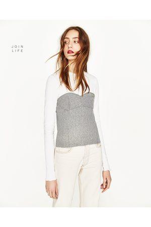 Mujer Zara Al Moda ¡compara Compra Ahora Tops Y De Playeras 54RjAL3