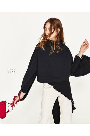 Compra Sudaderas Ahora Mujer Mejor ¡compara Zara Y Al Negra Precio De 00Hq6 c6b2e612215