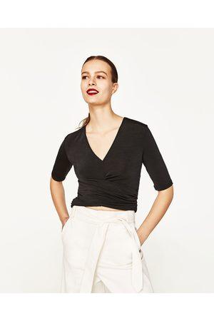 Mujer Tops - Zara TOP DRAPEADO - Disponible en más colores