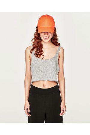 Mujer Playeras y Tops - Zara CROP TIRANTES - Disponible en más colores