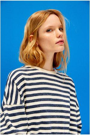 Mujer Sudaderas - Zara SUDADERA SOFT RAYAS - Disponible en más colores