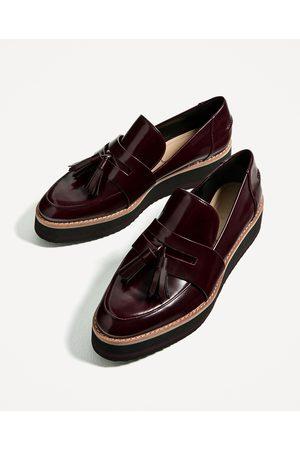 Zara De Compra Mocasines Shoes Mujer Ahora Y Online ¡compara Al reBdCxoW