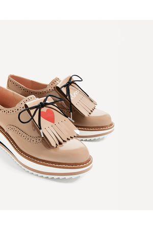 Mujer Zapatos - Zara BLUCHER PLATAFORMA MENSAJE