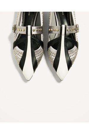Mujer Zapatos - Zara BAILARINA MICRO TACHAS