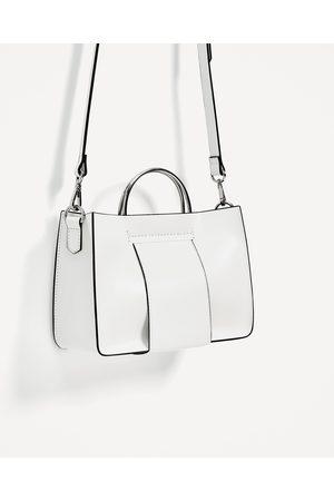 Mujer Bolsas - Zara MINI SHOPPER ASAS METÁLICAS - Disponible en más colores