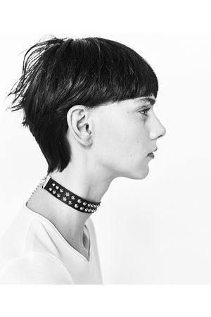 Mujer Collares - Zara PACK CHOKER TACHAS