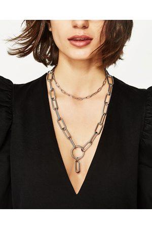 Mujer Accesorios - Zara PACK CADENAS RECTANGULARES