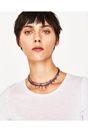 Mujer Collares - Zara COLLAR MULTI CADENAS