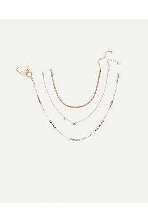 Mujer Collares - Zara PACK 3 COLLARES
