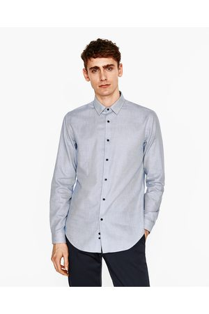 ESTRUCTURA Blusas y Hombre Zara Camisas BICOLOR CAMISA BwEURXq