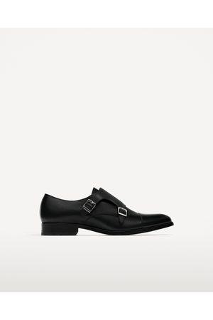 Hombre Zapatos - Zara ZAPATO PIEL DOS HEBILLAS