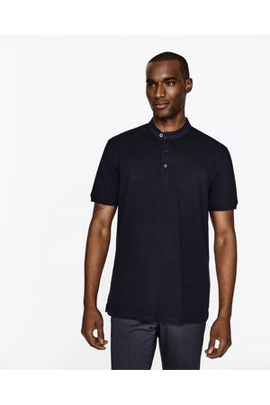 Hombre Polos - Zara POLO ESTRUCTURA MAO - Disponible en más colores