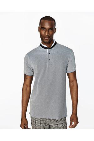 Hombre Polos - Zara POLO PIQUÉ MAO - Disponible en más colores