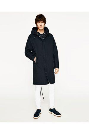 Hombre Parkas - Zara PARKA CAPUCHA - Disponible en más colores