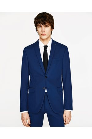 Hombre Sacos - Zara BLAZER CONJUNTO CINZATO - Disponible en más colores